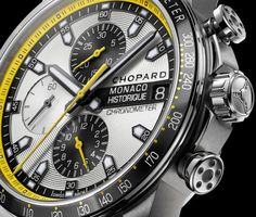 Chopard Grand Prix de Monaco Historique Dial Detail