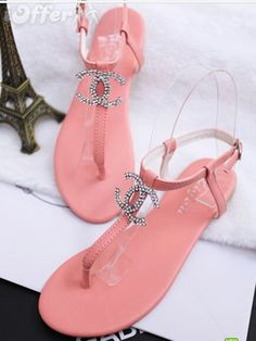 These look just like the juicy sandals, juicy just did more highlighter pink
