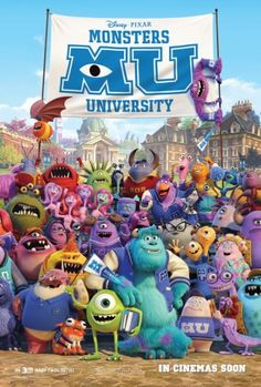 Monsters University: loved every minute of it. A lot of the funny bits were in the trailer but still made me chuckle and the references to the first film are genius. Watch count: 2