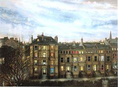 'Dusk' Avril Paton. (Athole Gardens)