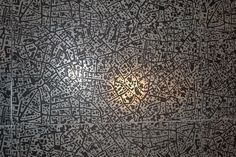 Tile as a map of Milan from Coverings and Foreman Rogers