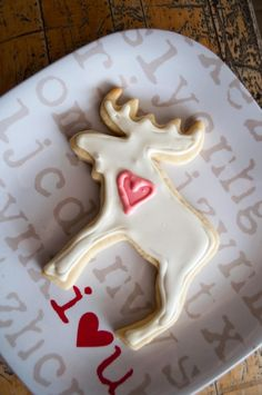 Moose Decoration. I have this cutter