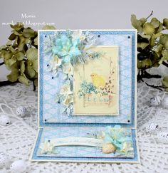 Easter easel card - Scrapbook.com
