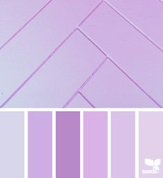 I like this for Valentine's Day - different than the usual red, but romantic, bright, exciting, and modern  Pasteled Lilac via @designseeds