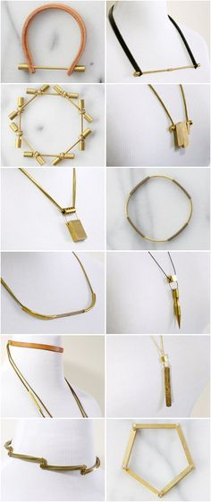 Check out www.loopdeloup.com  Up-cycled vintage stock made into modern minimalist jewelry!  http://etsy.com/shop/loopdeloupjewelry
