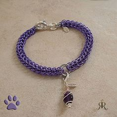 Purple hand woven pet necklace for your dog. Like a dog collar but much more stylish. Pet Future, Purple Hands, 2018 Color, Cat Necklace, All Things Purple, One Ring, Cat Collars, Pet Stuff, Dog Lover Gifts