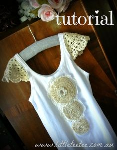 Tutorial: How to sew crochet doily sleeves