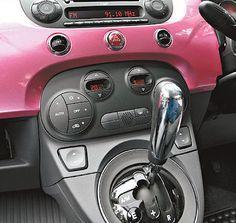 New Fiat 500 PINK