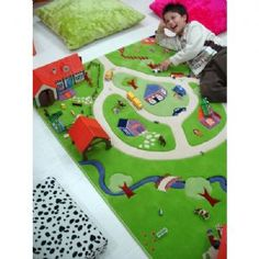 We are pleased to introduce a new range of 3 dimensional Play Rugs for children of all ages.  New from Turkey, all IVI rugs meet the strict European Child Protection Standards, so your child will be safe to play for hours.  This colourful and inviting rug makes a great setting for a country experience. All the toy animals will be in their right element, and so will your children! Make sure you put this rug where you can see it because it will put a smile on your face.  In an age when ...