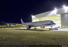FlightMode: China Airlines' first A350 XWB ready to start ground and flight tests