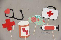 Toppers de graduación de enfermería médico EMT Healthcare