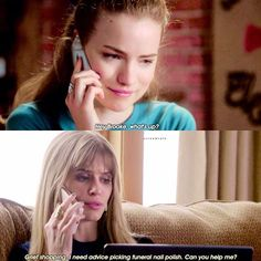 1.04 - Such cute friends. Emma's really going to have to be there for Brooke this season after  Jake  - #emmaduval#willafitz#brookemaddox#carlsonyoung#scream#mtvscream#mtv