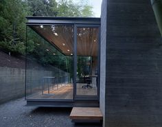 Glass Pavilion Tea Houses in California