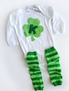 If only we had known Kasen would be born on St Patty's Day!!