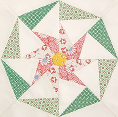 Twirling Star by Nancy Mahoney appeared in 100 Blocks Volume 1