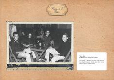 Año 1962, unos amigos en el Paseo de Hornachuelos