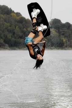 wakeboarding #boardwarrior... I will get to this level someday! :D