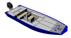 New Aluminum Bay Boat Plans with many of the comforts of a large bass boat carefully blended with bay boat technology, to create the ultimate fishing machine! Bass Fishing Boats, Kayak Fishing, John Boats, Flat Bottom Boats, Tracker Boats, Bay Boats, Wood Boat Plans, Boat Projects, Aluminum Boat