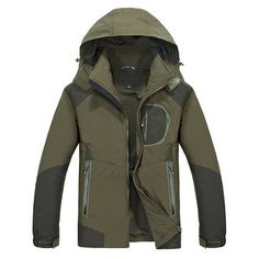 8af7f8f058 Outdoor Climbing Water Resistant Windproof Quickly Dry Breathable Jackets  for Mensales-NewChic Mobile Férfi Dzseki