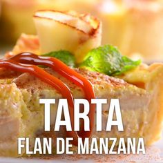 Video de Tarta Flan de Manzana This recipe where we managed to merge two of the most delicious desse Mexican Food Recipes, Sweet Recipes, Dessert Recipes, Ethnic Recipes, Italian Recipes, Delicious Desserts, Yummy Food, Tasty, Flan Cake