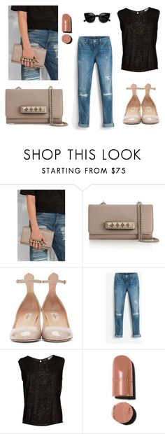 """Untitled #241"" by sakura1987 ❤ liked on Polyvore featuring Valentino, White House Black Market, Velvet by Graham & Spencer, Chanel and ZeroUV"