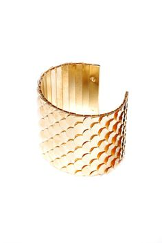 Golden Scales Cuff