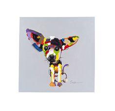De vorm is het hondje, want daar kijk je gelijk naar (centraal) en de restvorm is de achtergrond, die valt niet zo op, je kijkt er niet gelijk naar.