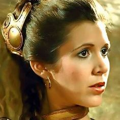 Princess Leia Organa from Star Wars Episode 6 Return Of The Jedi Leia Star Wars, Star Wars Princess Leia, Star Wars Art, Carrie Fisher, Princess Lea, Pin Up, Han And Leia, Portraits, Star Wars Episodes