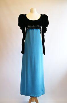 Vintage Oscar de la Renta Evening Gown Vintage by xtabayvintage