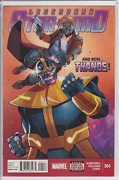Legendary Star Lord 4 Marvel Comics 2014 Guardians of the Galaxy Starlord Thanos