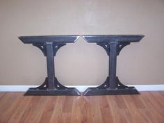 Steel I Beam Bar Base Kitchen Island Heavy Metal Iron Table Desk Legs