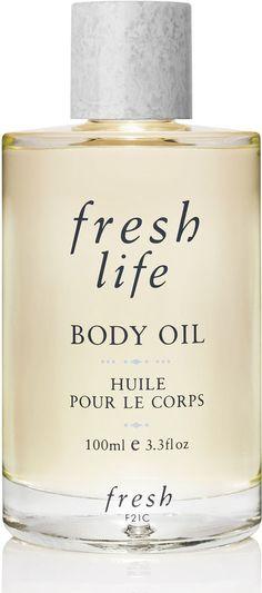 Fresh Life Body Oil on shopstyle.com