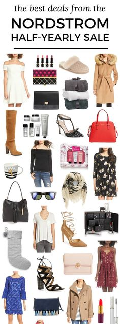 The best deals from the Nordstrom Half-Yearly Sale including sale finds from MAC, UGG, Barefoot Dreams, Ivanka Trump, Sam Edelman, Bobbi Brown, Kate Spade, philosophy, Ray-Ban, BP, Vince Camuto, Estee Lauder, Laura Mercier, Tory Burch, J.O.A., Rebecca Minkoff, Eliza J, Lancome, Vineyard Vines, Baublebar, bareMinerals & more from fashion blogger Ashley Brooke Nicholas.