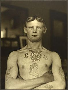 German Stowaway Immigrant, Ellis Island NY. 1909