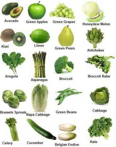 Seriously ... Green foods aren't scary! Look at these delicious viddles!