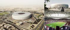 Al Thumama Stadium in Doha, Qatar - Fenwick Iribarren Architects