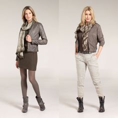 Herfst 2014: Expresso Rough Glamour collectie.