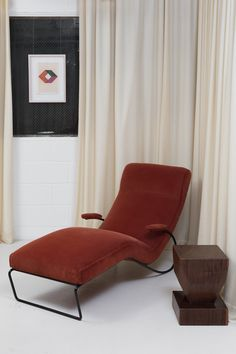 1950's Vintage Chaise. Mid Century Modern Brazilian design available at ESPASSO