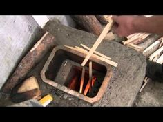 Heating the Greenhouse with a Rocket stove
