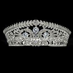 Elegant Clear Flower Tiaras Crown Rhinestone Crystal Wedding Bridal SHA8696  #Tiara