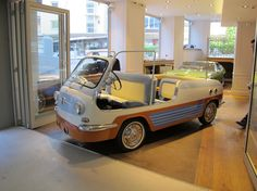 08a3538cfc49 1956 Fiat 600 - Multipla Spiaggia by Vignale   Classic Driver Market Fiat  600, Bike