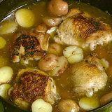 Braised Chicken Potatoes Mario Batali
