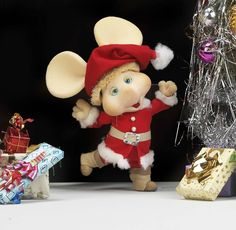 Topo Gigio ~ I loved this Topo Gigio as a child :o)