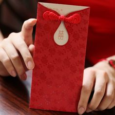 Classical China wedding invitation