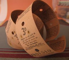 10 x Vintage Toll Bridge Tickets for Altered Arts Mixed Media Collage Destash