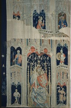 Alexander the Great or Hector of Troy (from The Nine Heroes Tapestries), ca. 1400-1410. South Netherlandish. The Metropolitan Museum of Art, New York. Gift of John D. Rockefeller Jr., 1947 (47.101.2d) #Cloisters
