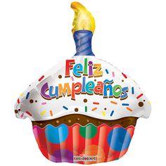 Globo Feliz Cumpleaños +-