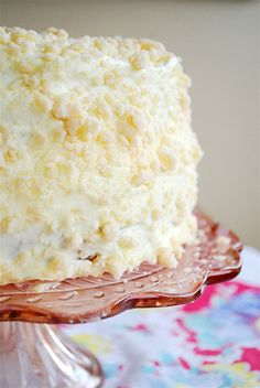 Lemon Crumb Cake recipe - http://www.yourhomebasedmom.com/?s=lemon+crumb+cake