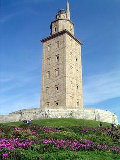 Torre de Hércules, La Coruña Spain