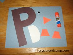 letter of the week crafts: p is for penguin #crystalandcomp